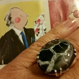 Jewelry - Septarian 925 sterling silver ring 7